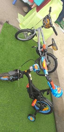 2 bicicletas