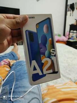 Vendo A21s nuevo sin nada de uso 128 GB de almacenamiento