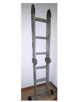 Escalera Plegable Multifunción de Aluminio