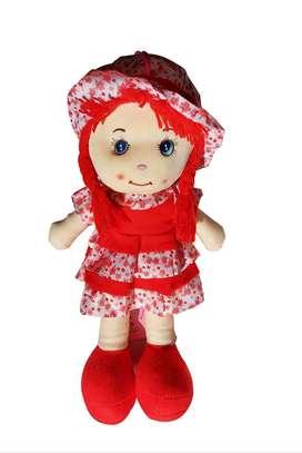 Muñecas De Trapo Con Vestido De Flórez Y Felpa Suave De 35 Cm