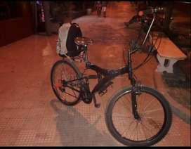 Bicicleta full estilo venta por viaje