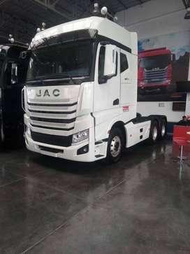 TRACTO JAC cabina con litera EURO 5 - 490HP - 48 TON