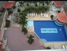 Arriendo departamento Tonsupa a 3 cuadras playa sector Club del Pacifico