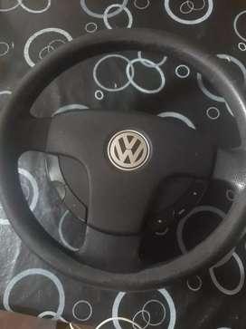 Volante VW original con comando sin airbag