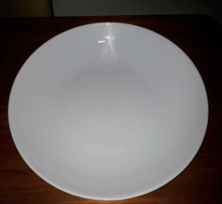 vendo fuentes de porcelana rectangular y redonda 0