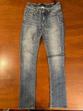 Jeans Levis chupin elastizado chupin talle 14