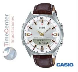 Reloj Casio Digital, Analógico Para Hombre Amw-830l