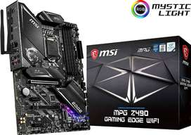 BOARD MSI MPG Z490 Gaming Edge WiFi ATX Gaming (10th Gen Intel Core, LGA 1200 Socket)