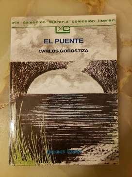 """Vendo Libro """"El Puente"""" de Carlos Gorostiza Usado"""