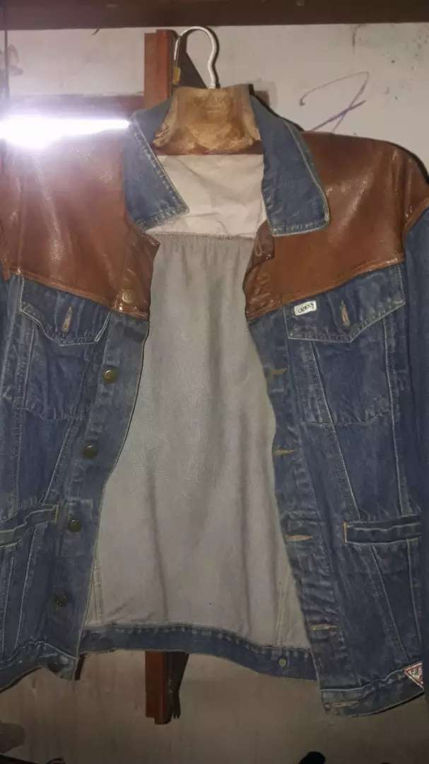 campera de jean antigua 0