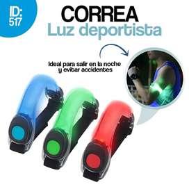 CORREA LUZ LED DEPORTISTA