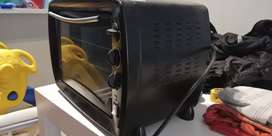 Horno eléctrico con 1 anafe Ultracomb usado funciona bien