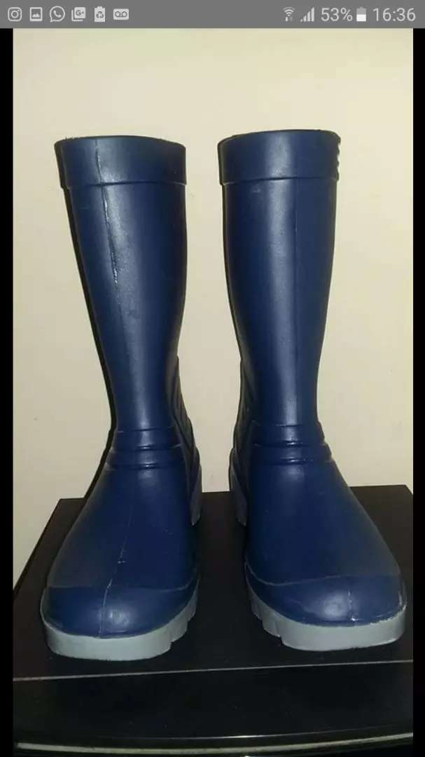 "Botas de lluvia ""escorpio"" color azul 0"