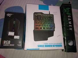 Maus, teclado gamer