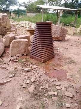 Talla en piedra Barichara
