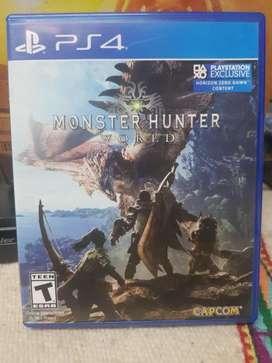 vendo Monster Hunter ps4