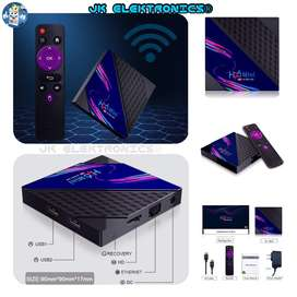 TV Box MINI-V8 H96 Android 10 Ultra HD Mem RAM 1&2GB DDR3 Mem Interna 8&16GB Conexión LAN&WIFI