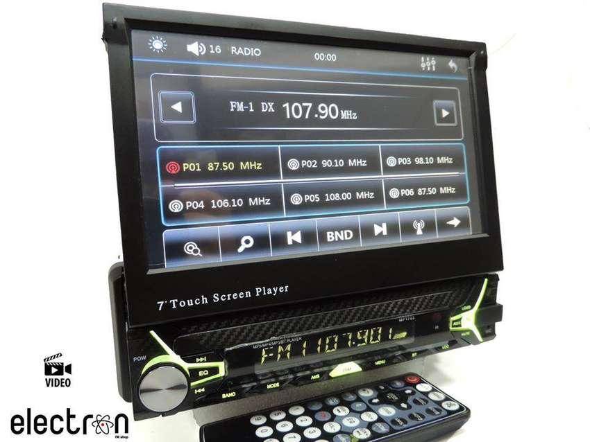 Radio Retráctil Mp5 Vídeo Usb Sd 7 Pulg. Hd Bluetooth 0
