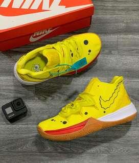 Botas Nike Kyrie Bob Esponja Amarillo Envio Gratis