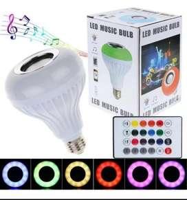 Bombillo Led Multicolor Musica Bluetooth