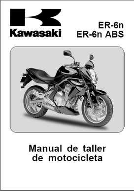 KAWASAKI ER-6N ABS  2006 MANUAL DE TALLER