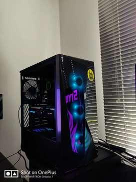 Pc gamer o diseño gráfico Intel core i7 con 16gb ram y tarjeta de video 8gb ddr5