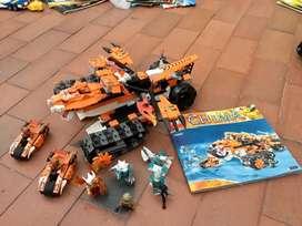 Lego centro de control movil del tigre