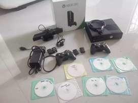 Xbox 360 + kinect y 7 juegos