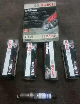 4 Bujias Bosch Iridium 9605 - HR 7 KII 33 V