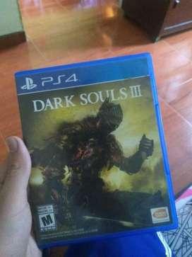 Vendo o cambio dark souls 3 ps4