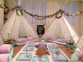 Spa para niñas, Pijamada ,Fiestas Virtuales, Alquiler mobiliario