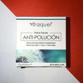 Polvo facial antipolucion