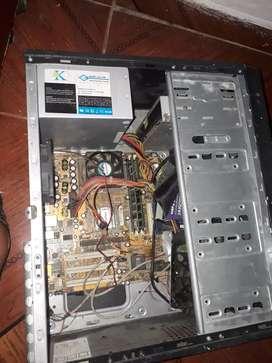 Computador 2 gigas ddr1 80 gigas de disco windows xp