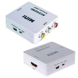 Convertidor Rca Video Compuesto A Hdmi. Salida Audio/ Video