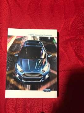 Manual Ford Fiesta Titanium