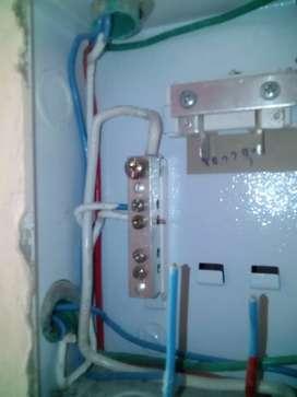 Todo lo relacionado en parte eléctrica residencial y acabados drywall