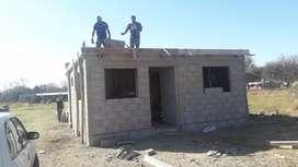 Terreno y casa a terminar lote 10 x50 en colonia tirolesa barrio estación tirolesa