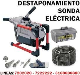 DESTAPONAMIENTO CON SONDA ELÉCTRICA - LINEA FÁCIL : 7202020