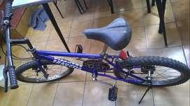bicicleta mountain bike con cambios