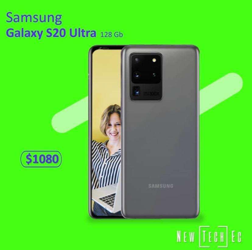 Samsung S20 Ultra Nuevo de paquete garantia local fisico 0
