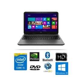 HP 15 GAMER, CORE I5 2.70GHZ, VIDEO NVIDIA, 500GB 4GB EXP.16GB RAM, 15,6 HD, AUTOCAD, REVIT, juegos