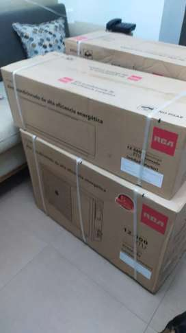 Venta de Aires acondicionado nuevo de paquete RCA de 12mil BTu