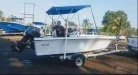 Vendo excelente  bote well craft 18pies 90hp