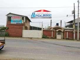 Venta de Terreno con Const. de Fabrica y casa, Sector Vía Balosa