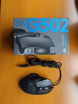 Mouse Logitech G502 Hero Casi Nuevo
