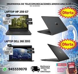 Laptop HP 250 G7 / DELL Inspiron 3593