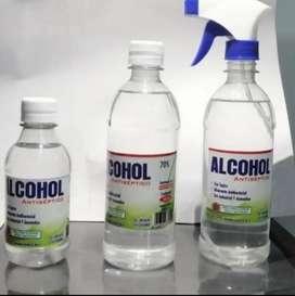 Alcohol x500 ml excelente precio de botella atomizador