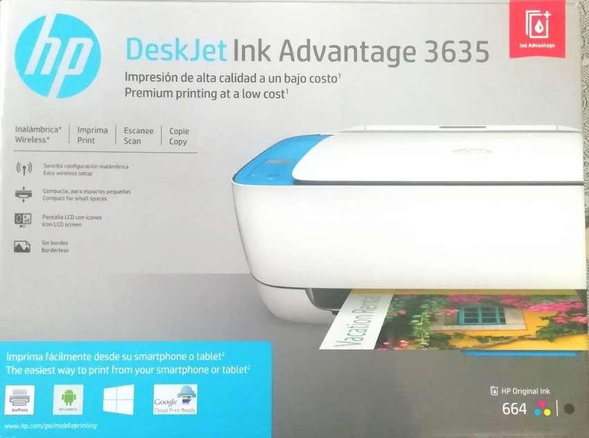 Impresora Hp Deskjet Ink Advantage 36351 - Excelente Precio