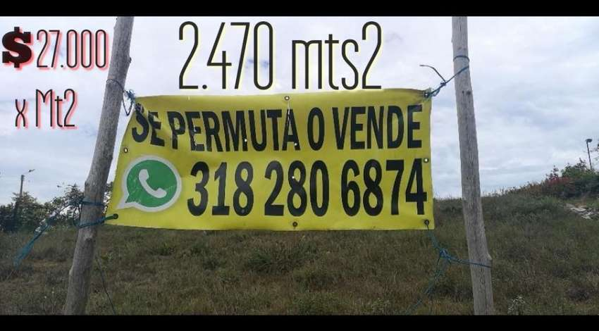 Se Vende Permuta Lote Mesa de Los Santos 0