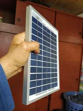 Mini panel solar 12 voltios 5 varios
